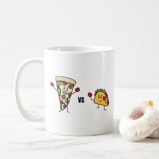 Pepperoni Pizza VS Taco: Mexican versus Italian Coffee Mug