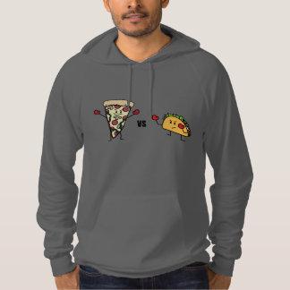 Pepperoni Pizza VS Taco: Mexican versus Italian Hoodie