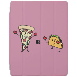Pepperoni Pizza VS Taco: Mexican versus Italian iPad Cover