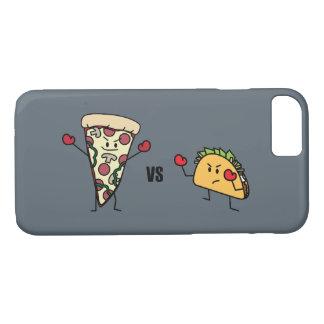 Pepperoni Pizza VS Taco: Mexican versus Italian iPhone 8/7 Case