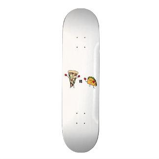 Pepperoni Pizza VS Taco: Mexican versus Italian Skateboard Deck