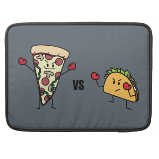 Pepperoni Pizza VS Taco: Mexican versus Italian Sleeve For MacBooks