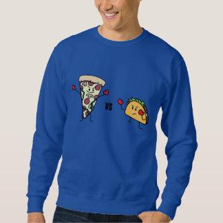 Pepperoni Pizza VS Taco: Mexican versus Italian Sweatshirt