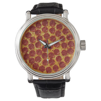 Pepperoni Pizza Watch