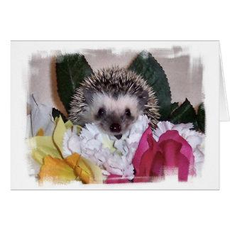 Pepperpot the Hedgehog Card