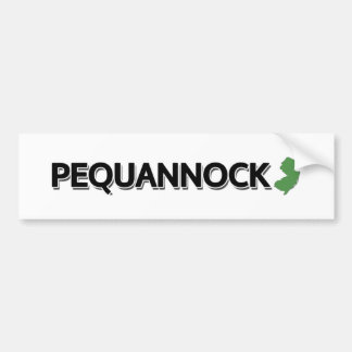 Pequannock, New Jersey Bumper Sticker