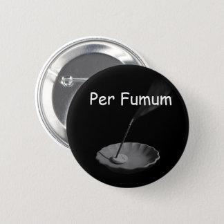 Per Fumum (type 1 標準サイズ) 6 Cm Round Badge