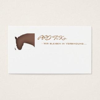 PER TiKo - date notes/visiting card