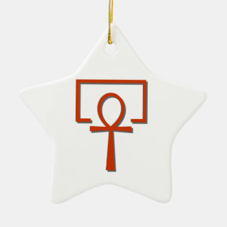 perAnch Haus house Anch Ankh Ceramic Ornament