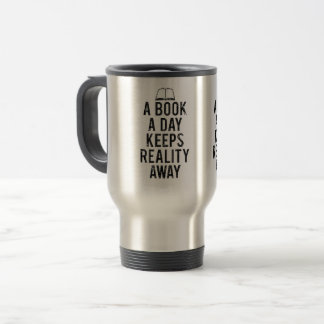Perception of life travel mug