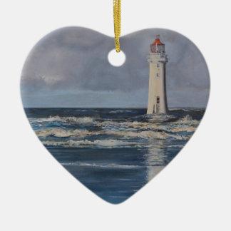 Perch Rock Lighthouse Ceramic Ornament