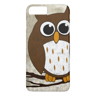 Perched Owl iPhone 7 Plus Case