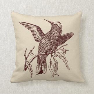 Perching bird cushion
