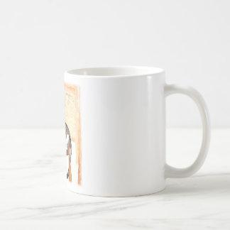 Perching Cat Digital Photograph Classic White Coffee Mug