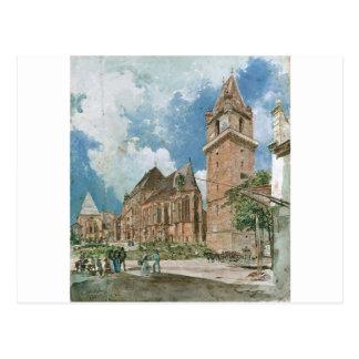Perchtoldsdorf by Rudolf von Alt Postcard