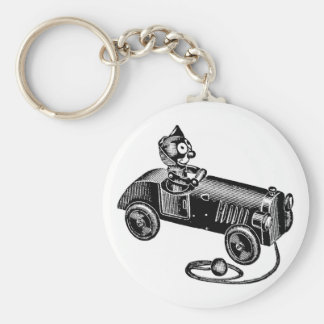 Percival's Ride Keychain
