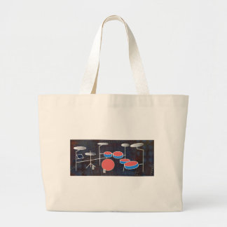 Percussion Color Large Tote Bag
