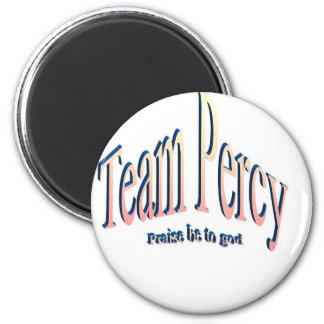 percy 6 cm round magnet