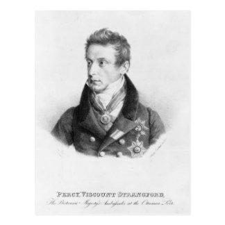 Percy, 6th Viscount Strangford Postcard