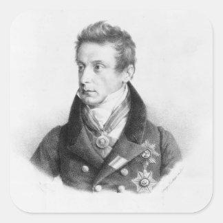 Percy, 6th Viscount Strangford Square Sticker