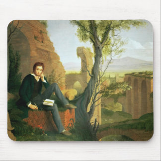 Percy Bysshe Shelley  1845 Mousepad