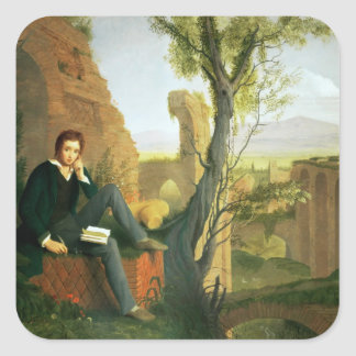 Percy Bysshe Shelley  1845 Stickers