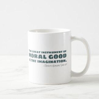 Percy Bysshe Shelley | Moral Good, Imagination Coffee Mug