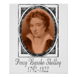 Percy Bysshe Shelley Poster