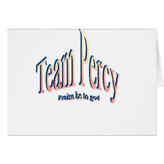 percy card
