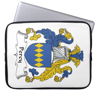 Percy Family Crest Laptop Computer Sleeves
