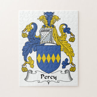 Percy Family Crest Jigsaw Puzzles