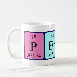 Percy periodic table name mug