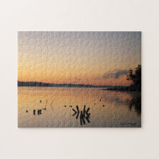 Percy Priest Lake Sunrise Jigsaw Puzzle