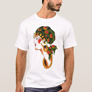 Percy Waters girl head by Gentle T-Shirt