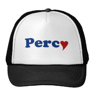 Percy with Heart Hats