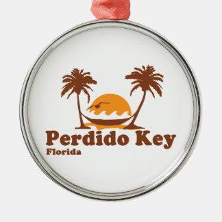 Perdido Key. Metal Ornament