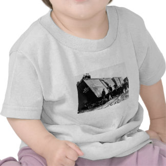 Pere Marquette Railway Freight Wreck Tshirt