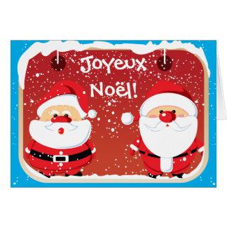 Père Noël Santa Claus cartes Card