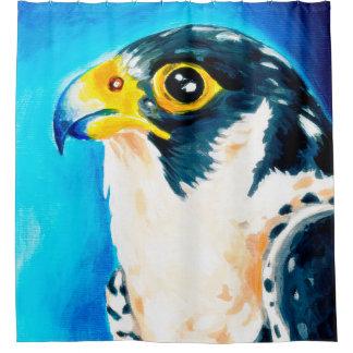 Peregrine Falcon Art Shower Curtain