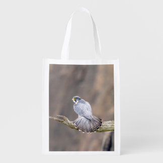 Peregrine Falcon at the Palisades Interstate Park Reusable Grocery Bag