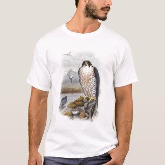 Peregrine Falcon John Gould Birds of Great Britain T-Shirt