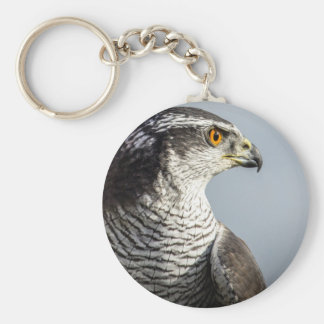 Peregrine Falcon Keyring Basic Round Button Key Ring