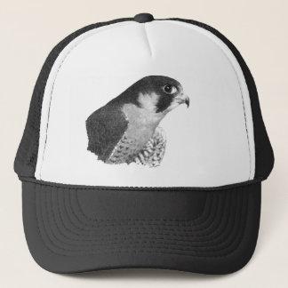 Peregrine Falcon-Pencil Trucker Hat
