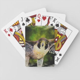 Peregrine Falcon Playing Cards