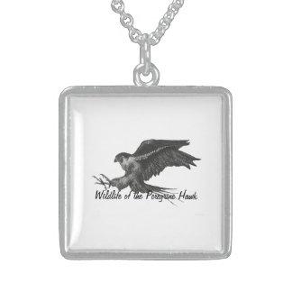 Peregrine Hawk necklace
