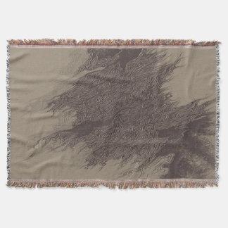 Perennial pain Throw Blanket