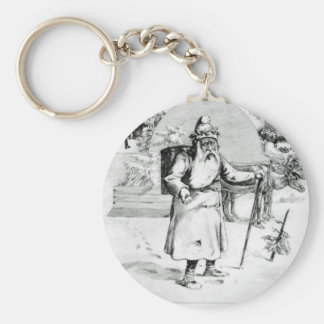 Perenoel Basic Round Button Key Ring