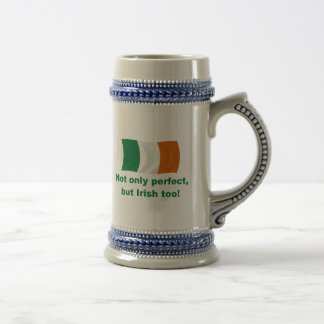 Perfect and Irish Beer Stein