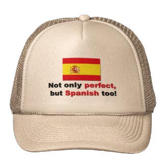 Perfect and Spanish Mesh Hats