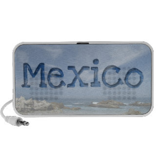 Perfect Beach; Mexico Souvenir Mp3 Speaker